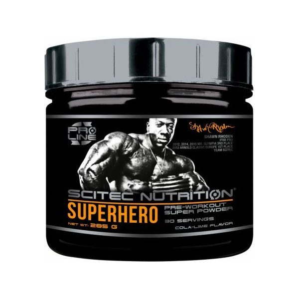 photo du Superhero Pre-Workout