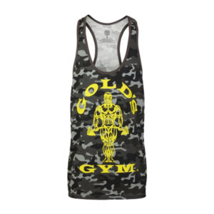 Stringer Gold S Gym Camo Black