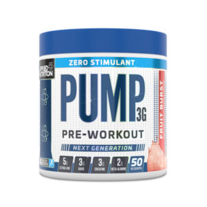 Pump 3 G Zero Stimulant Applied Nutrition